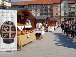Târgul de Paște al meșterilor populari, deschis de sâmbătă pe esplanada Casei de Cultură Suceava