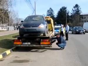 Campanie de ridicare a rablelelor abandonate pe domeniul public, în municipiul Suceava