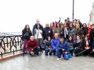Profesori și elevi de la CSEI Suceava, în Italia, în cadrul unui proiect Erasmus+
