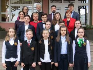 """Echipa de olimpici de la Școala """"Miron Costin"""""""