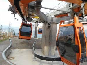 Telegondola de pe pârtia de schi de pe masivul Rarău va fi deschisă în perioada sărbătorilor pascale şi a minivacanţei de 1 Mai