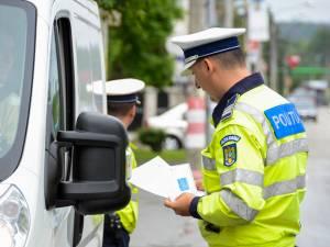 Polițiștii i-au vizat pe cei care nu respectă regimul legal de viteză sau se urcă la volan sub influența băuturilor alcoolice