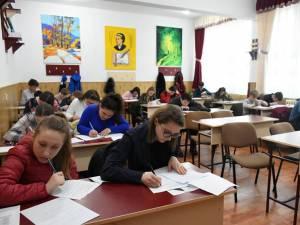 16 elevi suceveni participă la Olimpiada de Limba și Literatura Română (gimnaziu și liceu)