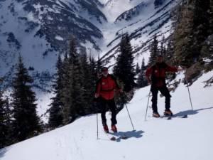 În masivul Călimani stratul de zăpadă are aproape 70 de centimetri