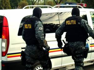 Razie a poliţiei în comuna Șcheia