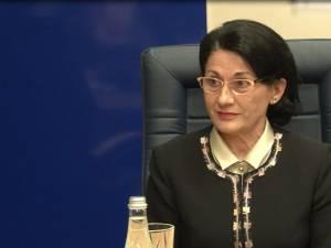 Ministrul Educaţiei, Ecaterina Andronescu  FOTO Ionuţ Dorin Pavel
