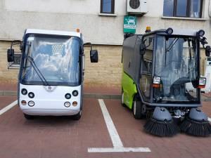 Autoutilitarele electrice achiziționate din fonduri elvetiene