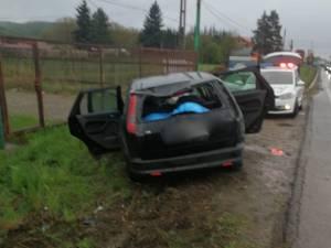 Accident rutier cu cinci victime, la Păltinoasa