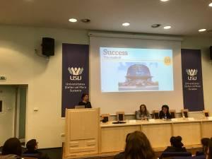 Peste 200 de studenţi ai Universităţii din Suceava au aflat despre stagiile de practică de la Guvernul României