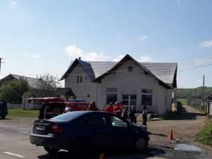Accidentul a avut loc la Ruși Mănăstioara