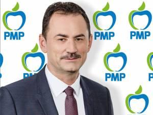Candidatul PMP din judeţul Suceava pentru Parlamentul European, Marian Andronache