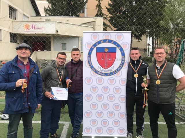 Poliţiştii suceveni au câştigat Cupa Primăverii CNP de la Rădăuţi