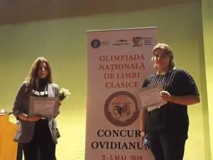 """Două menţiuni pentru Colegiul """"Mihai Eminescu"""", la Olimpiada de Limbi clasice (latina şi greaca veche)"""