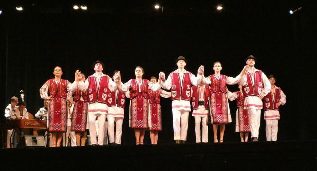 Fiecare spectacol a inclus şase suite de jocuri populare din Ţara Dornelor, Bucovina, Muntenia, Banat, Dobrogea şi Oltenia