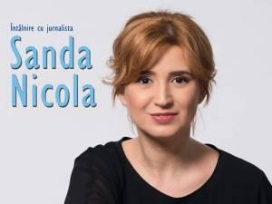 Întâlnire cu jurnalista Sanda Nicola, la Universitatea din Suceava