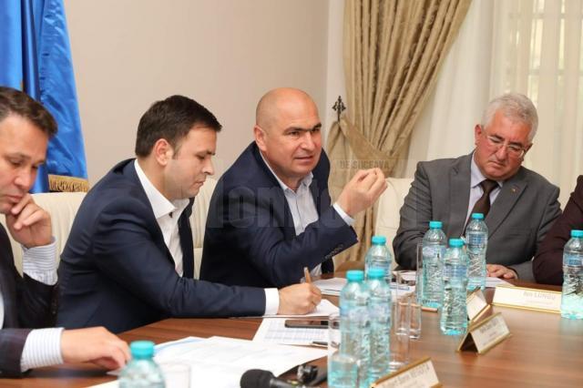 Ion Lungu, prezent la Comitetul Director al Asociației Municipiilor din România