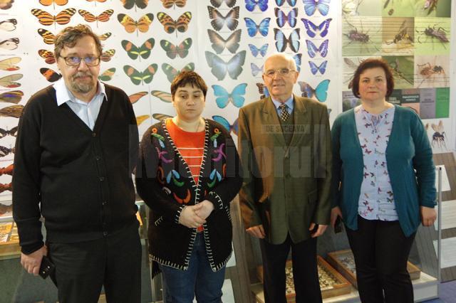 Ioan Mareș, Florentina Carmen Oleniuc, Ioan Moglan și Cristina Amarie