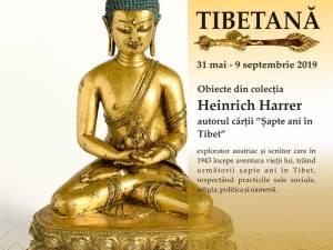 """Expoziţia """"Artă tibetană"""", obiecte din colecţia Heinrich Harrer, la Muzeul de Istorie"""