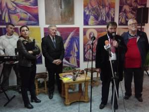 """Expoziţia de pictură a artistului Konstantyn Ungureanu Box, vernisată joi la Galeria de Artă """"Ion Irimescu"""" Suceava"""