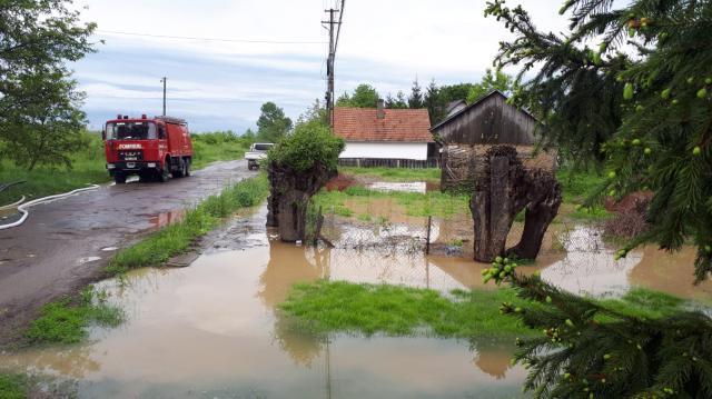 curti inundate