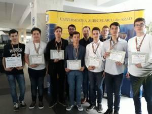 Elevii lotului judeţean, premiaţi la Olimpiada Naţională de Tehnologia Informaţiei