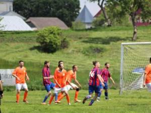 Meciul de la Stroieşti s-a încheiat cu victoria la limită a gazdelor