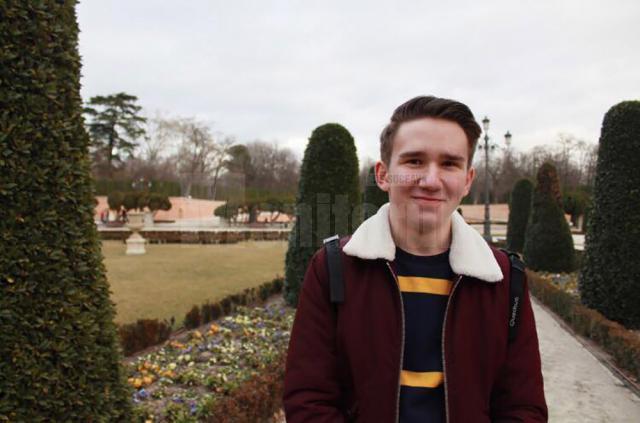 Vis american îndeplinit pentru un elev sucevean, care va studia în SUA, gratuit, timp de un an