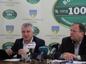 Marius Bostan – inițiatorul programului RePatriot și membru al RBL, alături de președintele Consiliului Județean, Gheorghe Flutur