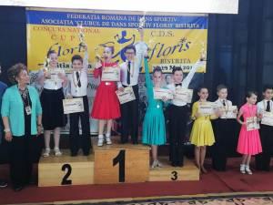 Sportivii Clubului Bucovina Dance Studio s-au întors cu zeci de premii de la concursuri din Bistriţa şi Chişinău