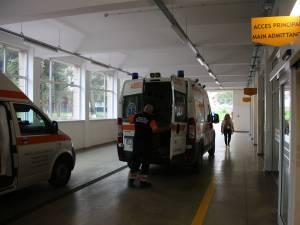 Victima a fost transferată la UPU Suceava