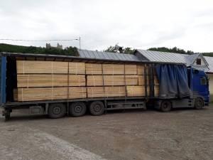 Peste 49 de metri cubi de cherestea au fost confiscați de Garda Forestieră Suceava