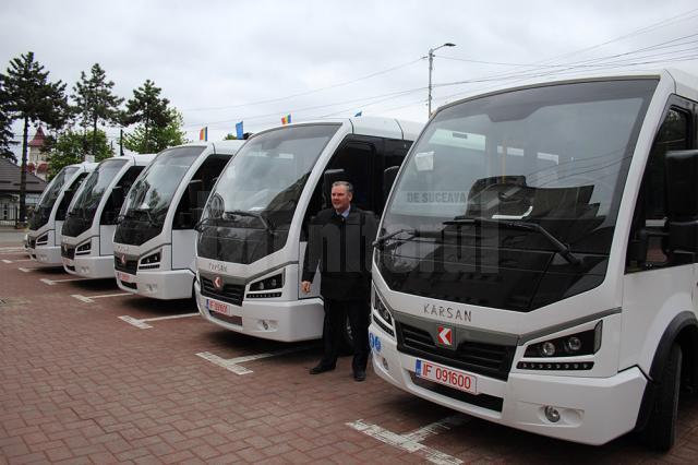 Autobuzele Karsan Jest Electric, cu motoare de BMW, au fost scoase pe trasee, începând de joi