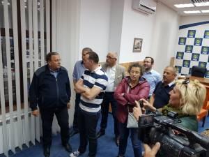 Rezultatele neoficiale au fost primite cu entuziasm la sediul PNL Suceava