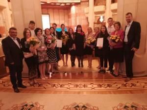 """Șapte """"Școli europene"""", premiate la Palatul Parlamentului"""