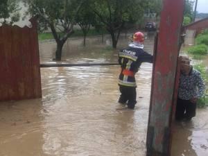 Inundaţii la Marginea