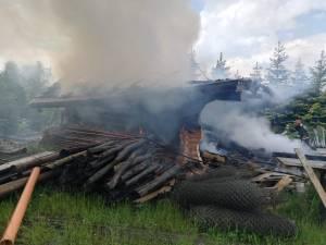 Garajul care a ars