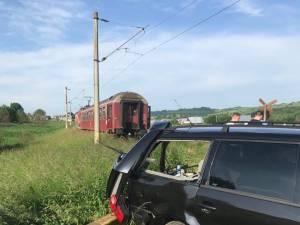 Un nou accident pe linia Suceava-Cacica