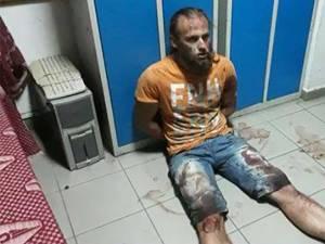 Ioan Beşa, după lupta inegală cu poliţistul pe care l-a atacat mişeleşte