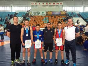 Sucevenii au câştigat patru medalii la naţionalele de juniori III