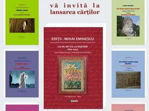 Lansări de carte, miercuri, la Biblioteca Bucovinei