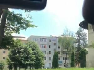 Scene jenante înregistrate ieri, în zona centrală a municipiului Suceava