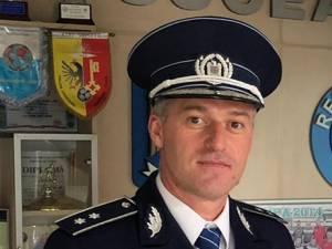 Comisarul Marius Ciotău, şeful Secţiei Rurale Gălăneşti