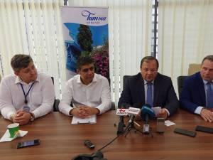 Vasile Nistor, Haithem Souani, Gheorghe Flutur şi Ioan Măriuţa