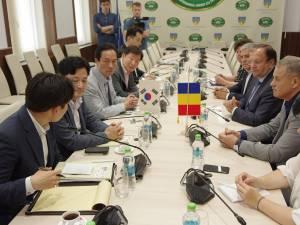 Întâlnirea delegaţiei din Coreea de Sud cu conducerea CJ Suceava