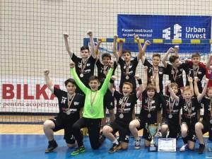 Echipa de handbal juniori IV CSU Suceava a devenit vicecampioană naţională