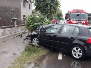 Accidentul s-a soldat cu repercursiuni destul de serioase pentru membri familiei