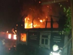 Corpul carbonizat al barbatului de 38 de ani a fost gasit in bucataria de vara, distrusa in incendiu