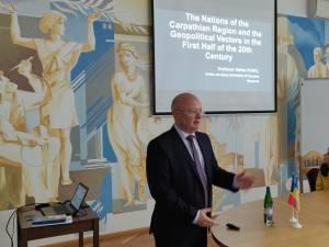 Prelegeri susținute la Universitatea din Ivano-Frankivsk, Ucraina, de prorectorul USV  Ștefan Purici