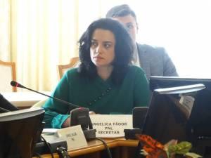 Deputatul PNL de Suceava Angelica Fădor