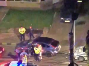 După ce a fost urmărit de cinci maşini de poliţie, Dorin-Florin Stroe a fost prins şi depistat cu o alcoolemie de 1,24 mg/l alcool pur în aerul expirat